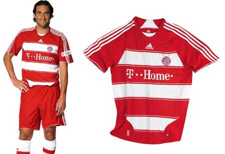 07-08赛季拜仁慕尼黑主场球衣