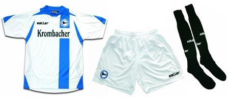 07-08赛季比勒菲尔德客场球衣