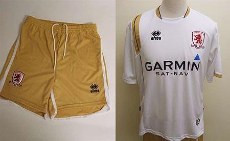 07-08赛季米德尔斯堡客场球衣