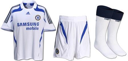 07-08赛季切尔西第二客场球衣
