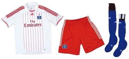 07-08赛季汉堡主场球衣