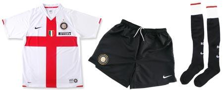 07-08赛季国际米兰客场球衣