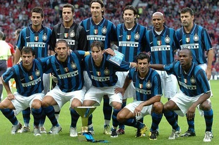 07-08赛季国际米兰主场球衣
