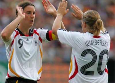 07女足世界杯德国女足主场球衣