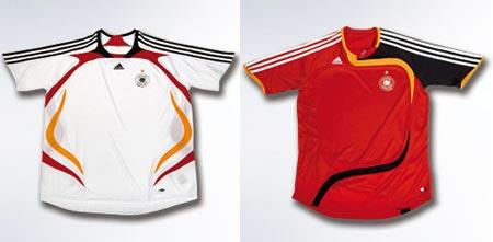 07女足世界杯德国女足主客场球衣