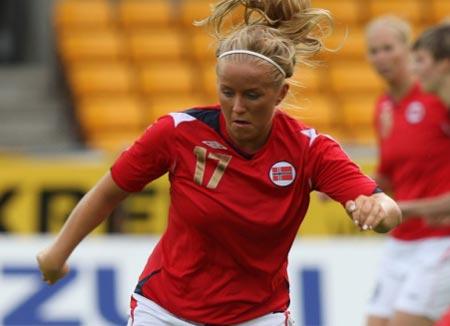 07女足世界杯挪威女足主场球衣