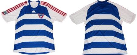 2008赛季FC达拉斯客场球衣