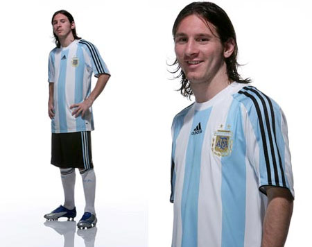 08-09赛季阿根廷主场球衣 , @球衫堂 Kitstown