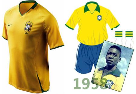巴西队服图片