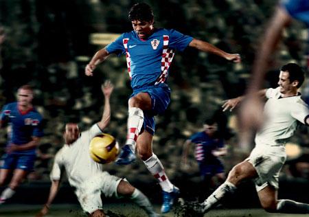 08-09赛季克罗地亚客场球衣