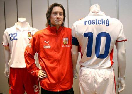 08-09赛季捷克客场球衣