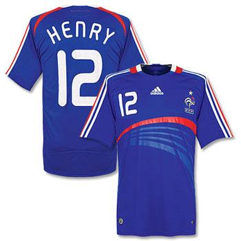 08-09赛季法国主场球衣