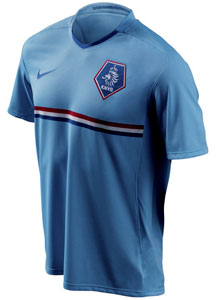 08-09赛季荷兰客场球衣