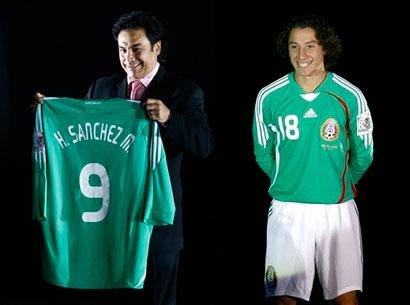 08-09赛季墨西哥主场球衣