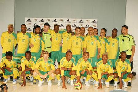 08-09赛季南非主场球衣