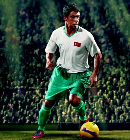 08-09赛季土耳其客场球衣
