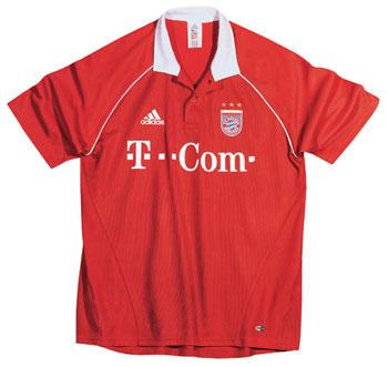 05-06赛季拜仁慕尼黑主场球衣