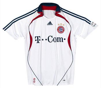 06-08赛季拜仁慕尼黑客场球衣