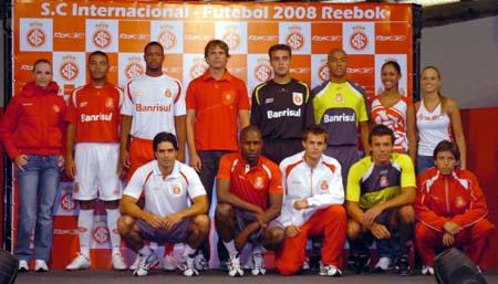 国际队2008赛季主客场球衣