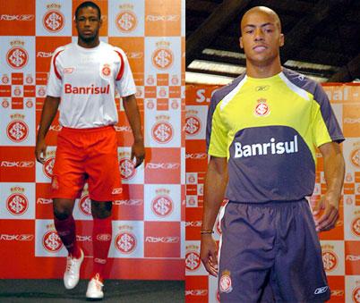 国际队2008赛季客场球衣和守门员球衣