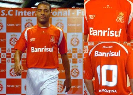国际队2008赛季主场球衣