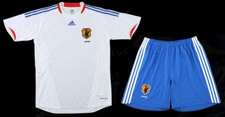 日本08-09赛季客场球衣