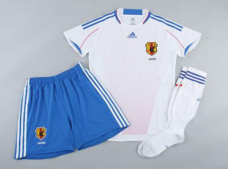 日本08-09赛季女足客场球衣