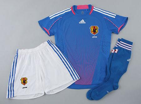 日本08-09赛季女足主场球衣