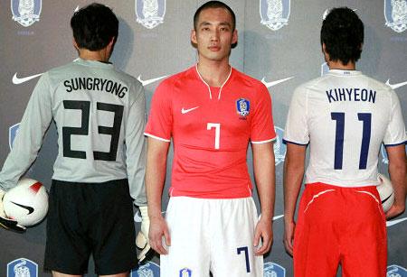 韩国08-09赛季主客场球衣