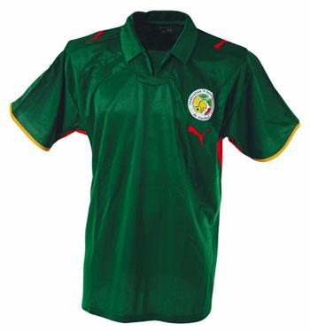 08-09赛季塞内加尔客场球衣