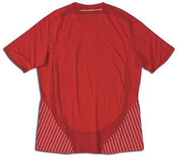 08-09赛季丹麦主场球衣