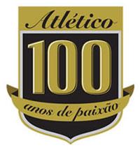 米内洛竞技100年纪念Logo