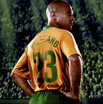澳大利亚08-09赛季主场球衣