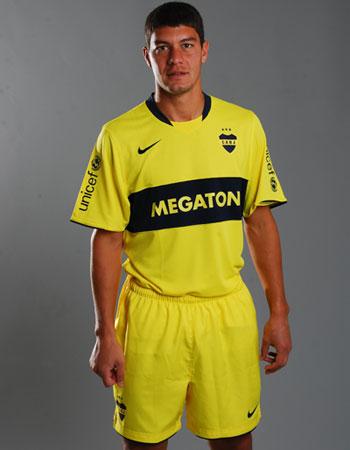 博卡青年08-09赛季客场球衣