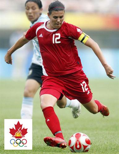 加拿大女足2008奥运会主场球衣