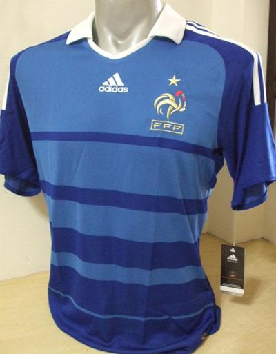 法国2010年世界杯预选赛球衣
