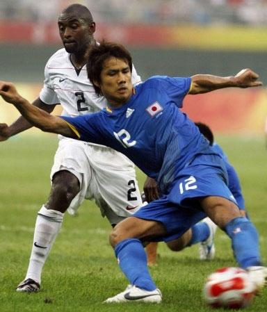 日本国奥队2008奥运会主场球衣