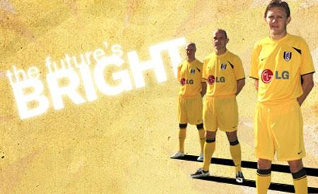 富勒姆08-09赛季第二客场球衣