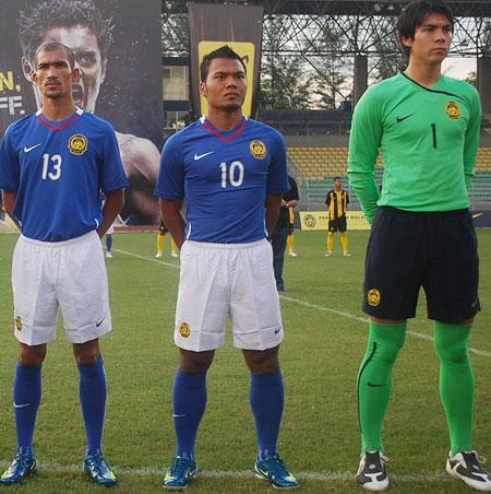 马来西亚国家队2009主客场球衣