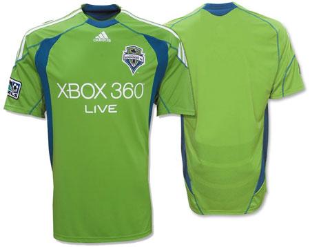 2009西雅图海湾人队主客场球衣发布