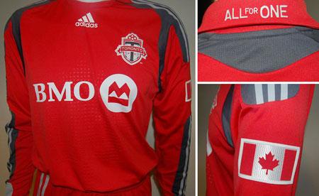 2009赛季多伦多FC主客场球衣发布