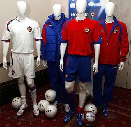 莫斯科中央陆军2009赛季主客场球衣