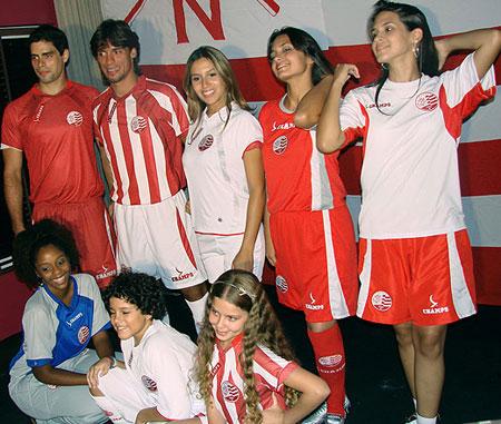 航海俱乐部2009赛季主客场球衣
