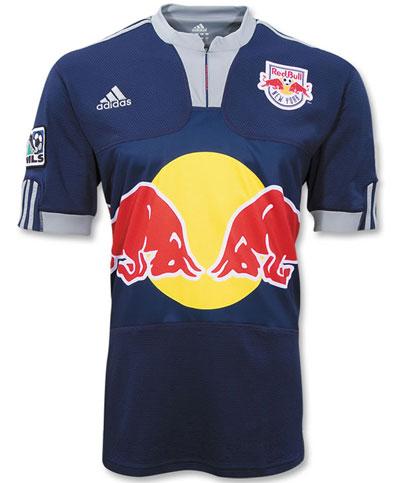 纽约红牛2009赛季主客场球衣