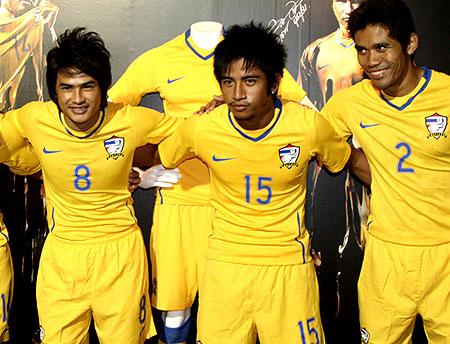 泰国国家队2009主客场球衣