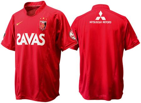 浦和红钻2009赛季主场球衣
