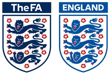 英格兰足总和国家队新徽标