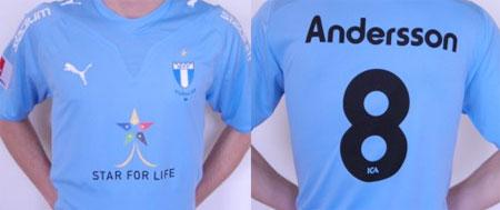 马尔默2009赛季主场球衣