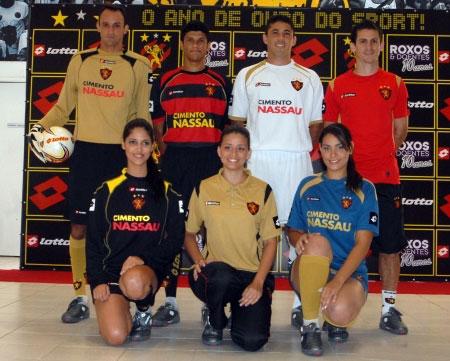 累西腓体育2009赛季主客场球衣