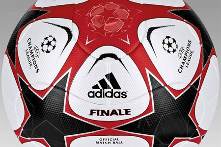 09-10赛季欧洲三大俱乐部赛事比赛用球